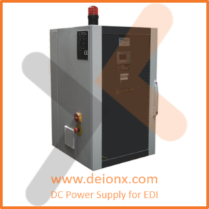 DC Power Supply for Electro Deinonzation EDI